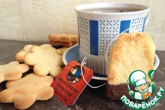 Печенье в кунжутно-медовой глазури